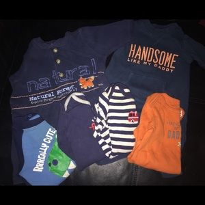 6 piece Baby Boy Bundle• Size 3M